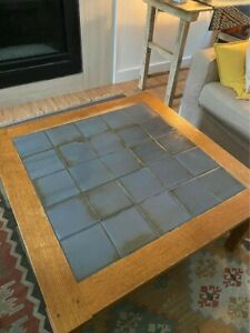 Stickley Mission Tile Top Coffee Table