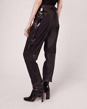 "Rag & Bone ""Savoy"" leather Pants BLACK Sz 0 $895 (Fits Like 2-4)"