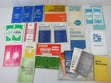 1970s 1980s Ford Mercury Lynx Car Truck Owners Operator Guide Manual Lot #12