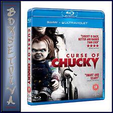 CURSE OF CHUCKY - Brad Dourif & Brennan Elliot  **BRAND NEW BLU-RAY **