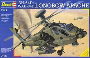 Revell 04420 AH-64D WAH-64D Longbow Apache 1/48 scale plastic model Aircraft kit