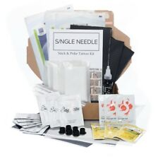 Complete Sterile Hand Poke Kits - Stick & Poke Tattoo - TRIPLE (For 3 Tattoos)