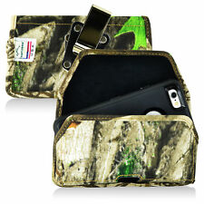 Turtleback iPhone 6  6S Nylon  Camo Pouch  Holster Case Metal Clip Fit Otterbox