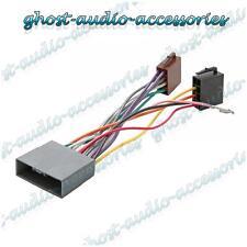 ISO Wiring Harness Connector Adaptor Stereo Radio Lead loom Mitsubishi Outlander