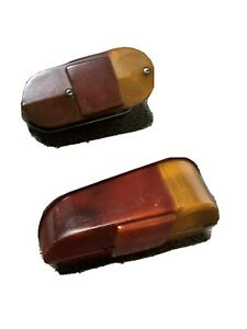 Mini Classic tail light lens 2 screw rear lights, indicator and brake both sides