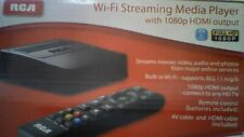 RCA WI-FI   Streaming Media PLAYER WITH 1080p HDMI OUTPUT / REMOTE / DSB776W