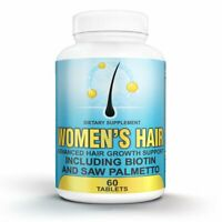 Women's Hair Growth Vitamins | Includes Biotin & Saw Palmetto