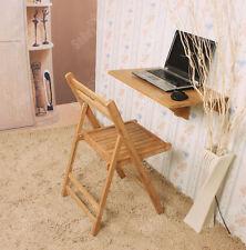 SoBuy® Table à rabat murale 100% bambou,Pliable rabattable 60×40cm FWT031-N FR