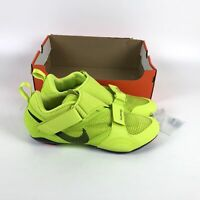 Nike Superrep Cycle Indoor Cycling Shoes Mens Size 12 Neon Yellow CW2191 348
