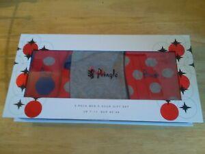 PRINGLE 3 Pack Men's Sock Gift Set size 7-11 UK New Boxed