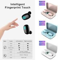 TWS Wireless Headphones Bluetooth 5.0 In-ear Earphone Display with LED W5B8