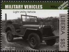 WWII WILLYS MB Jeep (Ford GPW)  Four-Wheel Drive Military Vehicle / Car Stamp