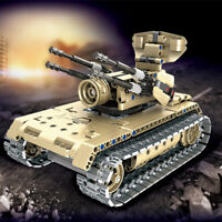 NEW BUILD YOUR OWN DIY REMOTE CONTROL R/C 2.4 MODEL BATTLE TANK KIT 2 IN 1 ROBOT