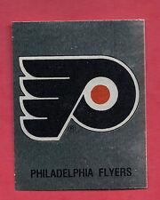 RARE 1987 PHILADELPHIA FLYERS  LOGO FOIL STICKER CARD