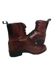 ariat paddock boots 8