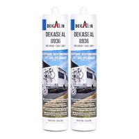 2x Dekalin Dekaseal Dichtstoff 8936 310 ml dauerelastisch für Wohnwagen