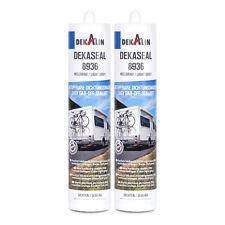 2x Dekalin Dekaseal Dichtstoff 8936 hellgrau 290 ml dauerelastisch für Wohnwagen