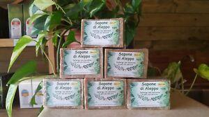 Sapone di ALEPPO 6 pezzi al 20% alloro 190-210 gr.