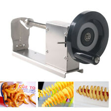 Multifunction Manual Twist Spiral Potato Slicer Spiral Vegetable Cutter Machine
