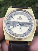 Omega Day Date Cal. 750 Automatic 35mm Vintage Watch - Very Rare Dial