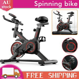 Fitness Exercise Bike Spin Bike Flywheel Commercial Indoor Home Gym LCD Display