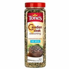 2 Pk Tones Canadian Steak Seasoning Healthy Spices Cooking Party Bulk Size 56Oz
