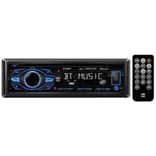 Dual DC208BT Single-DIN In-Dash CD AM/FM Receiver with Bluetooth