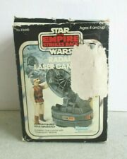 VINTAGE STAR WARS THE EMPIRE STRIKES BACK RADAR LASER CANNON TOY W/BOX KENNER
