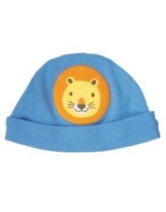 GYMBOREE BRAND NEW BABY BLUE w/ LION BEANIE HAT Preemies 0 3 6 12 NWT