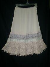 Vintage Aristocraft Size Ms Pink Lace Nylon Half Slip