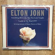 Elton John Candle In The Wind Cd 1997 Princess Diana Memorial Tribute New