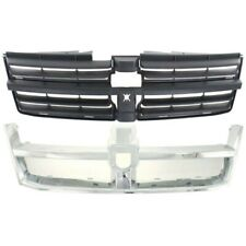 New Grille Molding Front for Dodge Grand Caravan 2008-2010 CH1200310 CH1202103