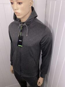 Hugo Boss Tracksuit Hooded Jacket & Pants Mens Grey BNWT Size Medium  £119