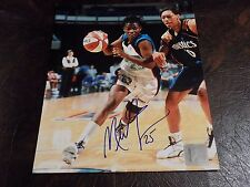 Merlekia Jones Autographed Miracle 8X10 Photo