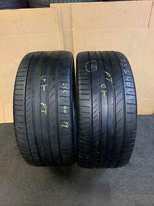 255 40 R 19 96W Continental ContisportContact 5 * SSR Rsc Run Flat Rft 2x Tyres