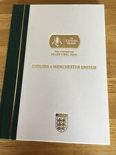 THE EMIRATES FA CUP FINAL 2018 CHELSEA V MANCHESTER UNITED OFFICIAL LIMITED ED