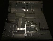 13152-20) hochwertige Vliestapete cooles Design - Tapete schwarz mit Glanz