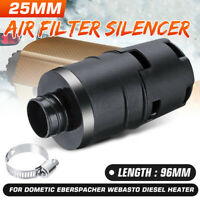 25mm Car Air Intake Filter Silencer For Webasto D2 D4 Eberspacher Diesel Dometic