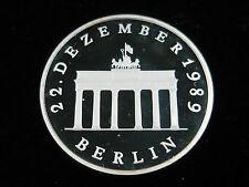 Polierte Platte Silber Münzen aus der DDR