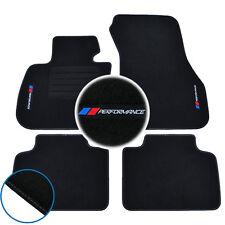 4 TAPIS SOL BMW SERIE 2 ACTIVE TOURER F45 MOQUETTE LOGO PERFORMANCE M SPECIFIQUE