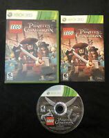 LEGO Pirates of the Caribbean — Complete! Manual Included! (Xbox 360, 2011)