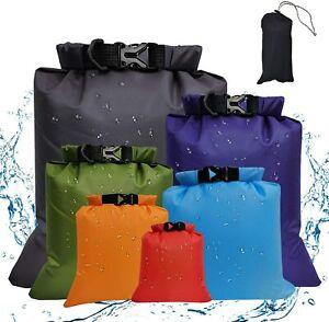 Dry Bag Tasche Seesäck Trockensack Wasserdicht Draussen Camping Gr.1.5L~8L