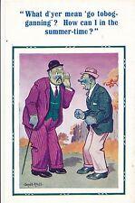 POSTCARD  COMIC  DONALD McGILL D Constance Series No 1536