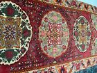 vintage antique wool area rug 10 by 5 good condition