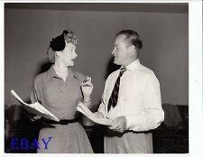 Lucille Ball Bob Hope Show Photo from Original Negative 1950