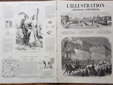 L' ILLUSTRATION 1866 N 1240 L'EMPEREUR D'AUTRICHE RENTRANT A VIENNE LE 9/11/1866