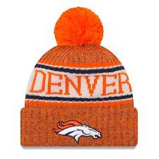 e54b4d5b9d8 Era 2018 NFL Denver Broncos Sport Stocking Knit Hat Winter Beanie 11768192