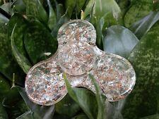 Energetisiert Kristall Orgon Zappeln Spinner Rund Kristall Therapie Booklet