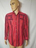 Rare Vintage Authentic Levi's Western Wear Shirt Levi Strauss Sanforized VTG