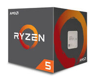 AMD Ryzen 5 1600 3.4GHz Hexa Core AM4 CPU, VAT Incl, Free UK P&P